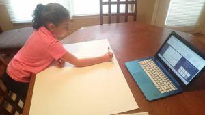 sarah studying