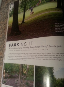 Winston Salem Monthly Magazine Article by Suzy Fielders